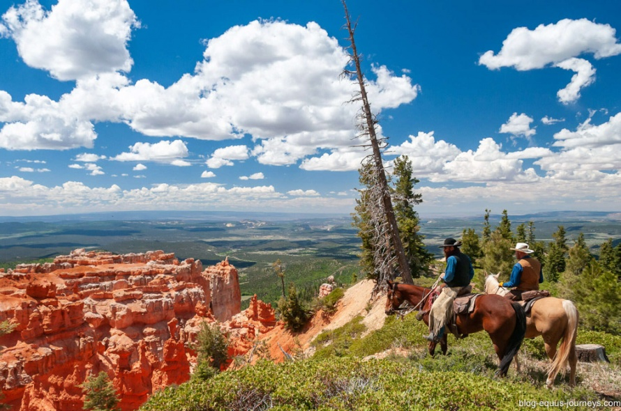 Three Parks Spectacular trail ride in the USA