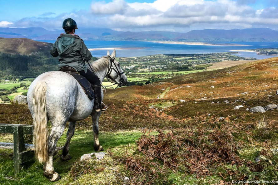 The Ring of Kerry on horseback in Ireland