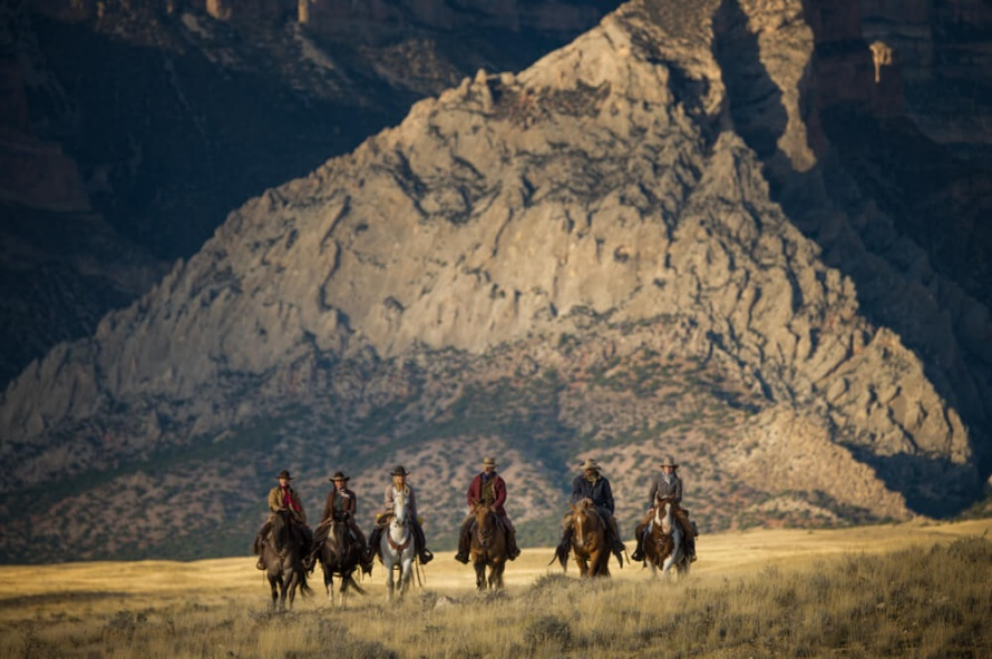 Breathtaking scenery at the Hide Out Ranch in the Shell Valley, Wyoming @WorldwideHoofprints